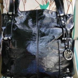 Michael Kors Gibson Super Rare Mint Patent Bag